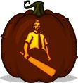 Pumpkin Carving Patterns and Stencils - Zombie Pumpkins! - Heroic Headliners - schweeeeet!