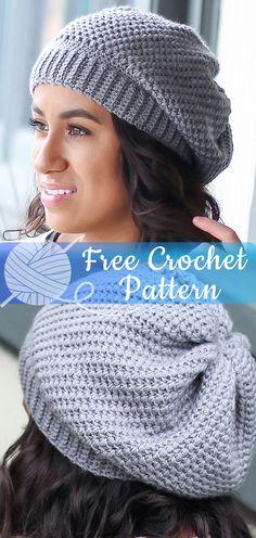 f4b19dafd5a Barista Slouch Hat  CROCHET FREE PATTERNS  - All About Crochet Slouchy  Crochet Hat Pattern