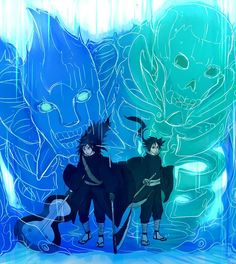 Susanoo Naruto, Izuna Uchiha, Naruto Shippudden, Naruto Shippuden Sasuke, Naruto Oc Characters, Loki Drawing, Ninja, Fanart, Naruto Pictures