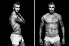 David Beckham's new H bodywear campaign