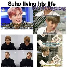 This is Suho everybody, the 'guardian' of EXO