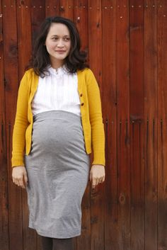 maternity skirt tutorial