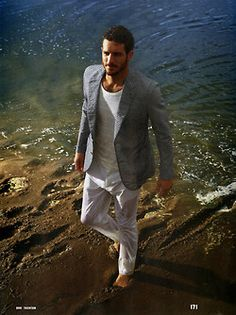thestylishguy:  Justice Joslin For Esquire: The Big Black Book!