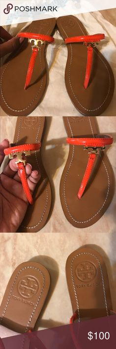 Tory burch thong sandals Tory burch thong sandals. Authentic. Barely worn. Price is negotiable. Tory Burch Shoes Sandals