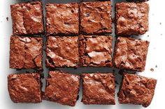 Classic chewy brownie