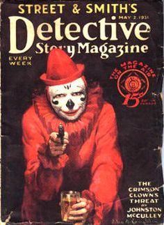 Noir pulp magazine, 1932