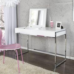 Kozmetický stolík Milano biela