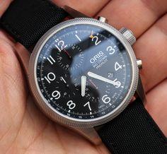 Oris Big Crown ProPilot Chronograph GMT Watch Hands On   hands on