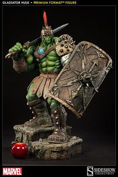Marvel Gladiator Hulk Premium Format Figure by Sideshow Collectibles | Sideshow Collectibles