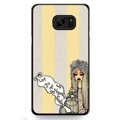 Let Go Of Negative Fellings TATUM-6441 Samsung Phonecase Cover For Samsung Galaxy Note 7