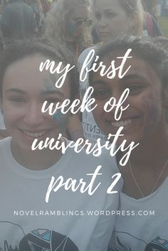 My First Week of University Part 2 | Nerdy and Wordy
