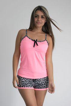 Pijamas para dama                                                                                                                                                                                 Más Cute Sleepwear, Lingerie Sleepwear, Nightwear, Pajama Outfits, Pink Outfits, Cute Outfits, Cute Pjs, Cute Pajamas, Ropa Interior Boxers