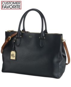 Lauren Ralph Lauren Newbury Double Zip Satchel