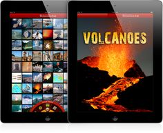 Britannica Kids: Volcanoes:   Not only do I love geology, this app is fascinating and can interest anyone who is studying volcanoes!