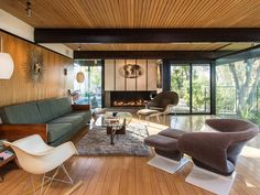 Handsome 1959 Buff and Hensman post and beam in Cahuenga Pass seeks $2.65M - Curbed LA