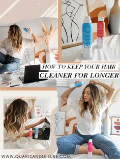How to Keep Your Hair Cleaner for Longer