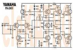 Valve Amplifier, Audio Amplifier, Ab Circuit, Circuit Diagram, Electronics Basics, Electronics Projects, Yamaha Audio, First Transistor, Diy Subwoofer
