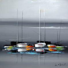1000 id es sur le th me peinture de voilier sur pinterest abstrait peintur - Tableaux tryptiques contemporains ...