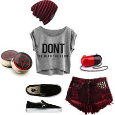 50 Head-turning Casual Outfit Ideas for Teenage Girls 2017 - Is there anyone who does not like the casual style? Of course not and it is almost impossible to find someone who says yes. Casual outfits are easy to. Source by ideas for girls Cute Emo Outfits, Punk Outfits, Teen Fashion Outfits, Grunge Outfits, Look Fashion, Outfits For Teens, Casual Outfits, Summer Outfits, Disney Outfits