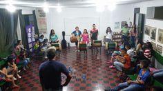 Se espera que estudiantes de Unicauca realicen su práctica de pasantía en la Casa de la Cultura de Tunía. Fotos suministradas por: Jorge Yeison Campo.