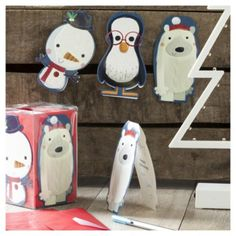 Tesco direct: Chilly Christmas Cards, 20 pack