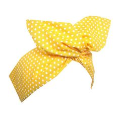 Yellow White Polka Dot wire Headband Pin up Hair Wrap ($7.42) ❤ liked on Polyvore featuring accessories, hair accessories, wire twist headband, flexible wire headbands, white hair accessories, flexible headbands and hair band accessories