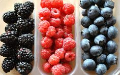 I love berries!!! And they're good for you too.
