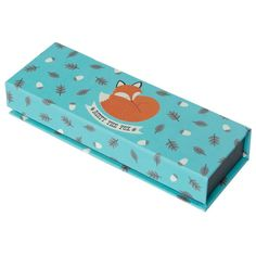 Super sweet and vintage inspired!  This GORGEOUS pencil case with magnetic lid IS PERFECT for storing pencils, rulers, erasers and paper clips - featuring our favourite Fox, Rusty!  #fox #woodland #stationery #pencils #pencilcase #kids #boys #girls #designerkids #kidsstyle #school #supplies #kidstoys #kidsgifts #paper #rex #partytheme #partyshop #kidsstore #parenting #motherhood #events #styling #partydecor #littlebooteekau