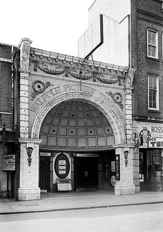 Walpole Cinema, Bond Street, Ealing, Greater London bb87_03403 by English Heritage, via Flickr Such a beautiful looking front...