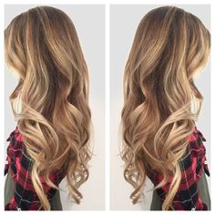 Fall blonde hair. Melting with cool and warm blondes. Hair done by /shandinichelle/