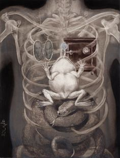 Illustrations by Santiago Caruso (Artist on tumblr)