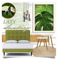 """""""LAZY Sundays"""" by tammara-d ❤ liked on Polyvore featuring interior, interiors, interior design, home, home decor, interior decorating, Merola, Balmain, Americanflat and Convenience Concepts"""