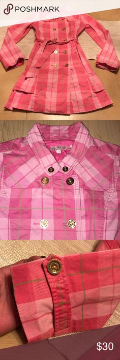 Juicy couture Juicy couture double-breasted trench coat size 14! In pristine condition Juicy Couture Jackets & Coats
