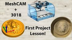 MeshCAM Intro (Your first 3018 project!) - YouTube Cnc Projects, Cnc Machine, Youtube, Desktop Cnc, Youtubers, Youtube Movies
