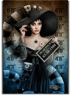 Other villains Andere Schurken Dark Disney, Disney Art, Arte Horror, Horror Art, Gothic Art, Gothic Girls, Dark Fantasy Art, Dark Art, Tim Burton Art
