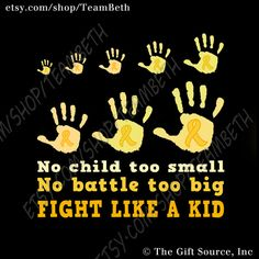 Childhood cancer awareness shirt gold ribbon september by TeamBeth