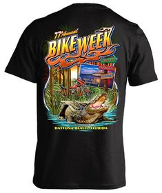 c48d2bd12d 2018 Daytona Beach Bike Week Old Florida Gator - 77th Anniversary