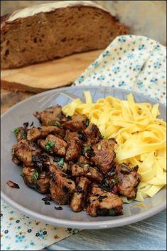 Foie de veau sauce crémeuse à l'oignon ~ Happy papilles