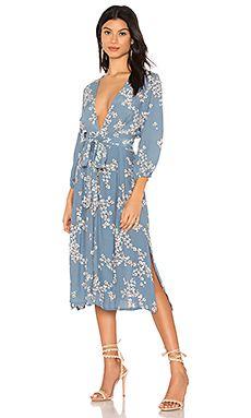 7abb640ed7 Chloe Midi Dress FAITHFULL THE BRAND  189 NEW ARRIVAL Positano Italy