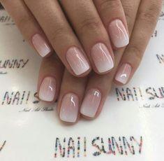 Discover new and inspirational nail art for your short nail designs. Nail Polish, Shellac Nails, My Nails, Glitter Nails, Nail Manicure, Acrylic Nails, Bride Nails, Wedding Nails, French Nails