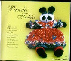 Free Panda Bear Pattern