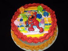 Elmo Birthday       Roseville Calif. DQ