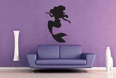 Little Mermaid wall decal