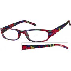 b9fe2710af A trendy plastic full-rim frame with randomly mixed pattern. I am going to