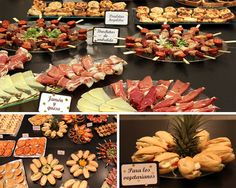 Fiesta-sorpresa-50-cumpleaños-mesa-de-salado 40th Birthday, Birthday Parties, Spanish Party, Ideas Para Fiestas, Barbacoa, Canapes, Holidays And Events, Tapas, Catering