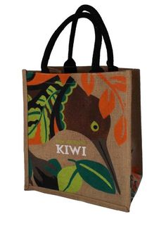 New Zealand Accessories Kiwi Bird Birthday Gifts For Her Beautiful Shopping Bag