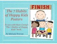 CUTE 7 Habits of Happy Kids Posters!