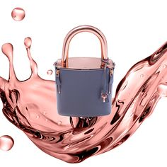 a730963c6a2 Savas Milano Rose Gold Grey Leather lock it bag Padlock lucchetto lockit  handbag lady bag one of a kind bag