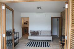 Living room, second floor of Casita Sal de Mar, Port de Soller. www.sollersecrets.com