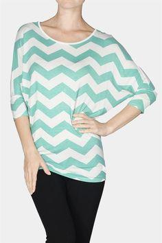 Kelly Brett Boutique: Women's Online Clothing Boutique - Active Dolman Sleeve Top Mint, $22.00 (http://www.kellybrettboutique.com/active-dolman-sleeve-top-mint/)